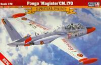 FOUGA MAGISTER CM.170 (AUSTRIAN, BELGIAN, FINNISH, IRISH MKGS) 1/72 MISTERCRAFT