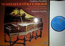 SCARLATTI 70 Cembalo Sonaten Harpsichord Sonatas  Dreyfus 4 LP Telefunken NM