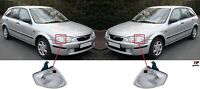 FOR MAZDA 323 323F 98-00 NEW FRONT FENDER INDICATOR LAMP WHITE PAIR SET L&R