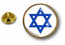 Anstecknadel Pin Abzeichen Metall Anstecker Flagge Israel Stern Davidstern