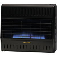 ProCom  MNSD300TGA Dual Fuel Vent Free Garage Gas Heater,Ventless -30,000 BTU,