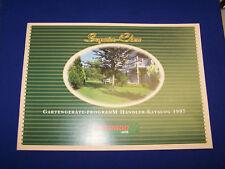 Original Druck Händler Katalog Superior Class Programm Gutbrod 1997- Rarität