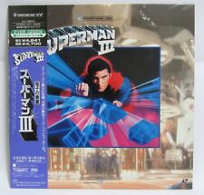 SUPERMAN III- Japanese original  LASER DISC RARE