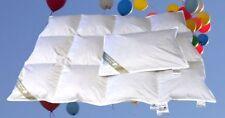 Hofmann´s Baby Kinder Daunenbett 100x135 cm Daunendecke + Kissen 100%  Natur