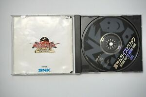 SNK NEO GEO CD Shin Samurai Spirits Shodown 2 Japan NEOGEO Game US Seller