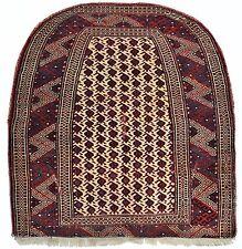 Antik Jomud Satteldecke Turkmenistan saddle-cover Turkmen rug Tapis Tappeto