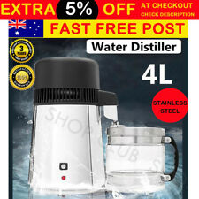 Upgraded 4L Pure Purifier Filter Water Distiller Dental Medical Hospital 750W