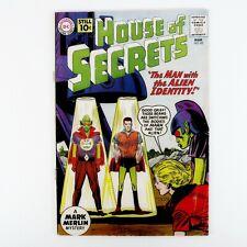 House of Secrets 42 DC Comics 5.5 FN- cover gloss Silver Age Mar 61 Mark Marlin