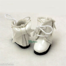 Mimi Collection Hujoo Baby Obitsu 11cm Body Doll Shoes Ribbon Boots White