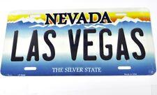 USA Auto Nummernschild License Plate Deko Blechschild Nevada Las Vegas