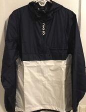 9f96701a4ca9 Nike SB Mens Windbreaker Anorak White Blue Size Large 860265 475 Top Jacket