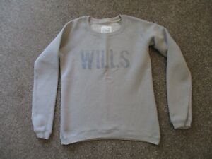 Jack Wills grey long sleeved top - size 10
