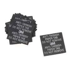 3M Anti-Tarnish Paper Tabs 1X1 Inch Square (20 Tabs)