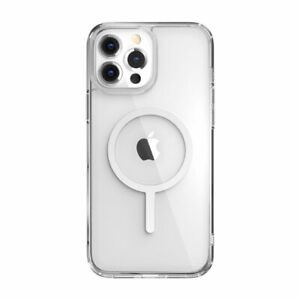 SwitchEasy MagCrush MagSafe Shockproof Clear Case for iPhone 13 series
