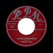 NEW! R&B Classic HOWLIN' WOLF / JUNIOR BROOKS-Crying At Daybreak/Lone Town Blues