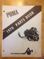 Arctic Cat Snowmobile Parts Book Manual 1970 Puma
