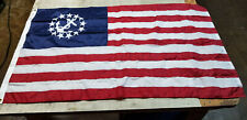 "3x5' - 36x60"" - Nautical Yacht Ensign Usa Sewn Nylon Flag Banner - Annin Quality"