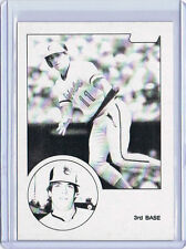 Rare! 1983 TOPPS - BLACK & WHITE TEST PROOF- ERROR - Glenn Gulliver #293 Orioles
