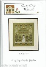 In The Meadow Christmas Cross Stitch Pattern Leaflet Country Cottage Needleworks