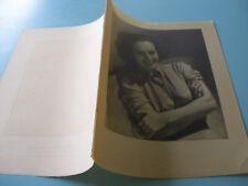 epreuve imprimerie 1932 MISS JOAN CRAWFORD PAPIER CALQUE ET INGRES