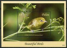 Palau 2018 MNH Beautiful Birds Citrine White-Eye 1v S/S Stamps