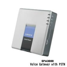 Linksys SPA3000 VoIP FXS FXO VoIP PSTN Phone Adapter SIP Telephone telefone  line
