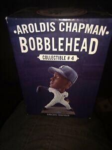 Aroldis Chapman NY Yankees SGA Bobblehead 8/27/17 BRAND NEW 2017 NIB