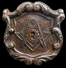 Mason Masonic Freemason Lodge Symbol Sign temple sculpture art plaque replica