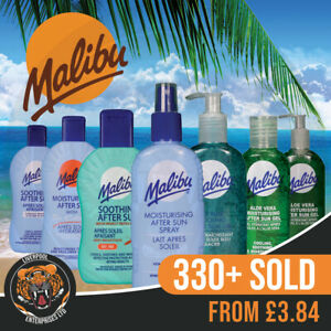 Malibu After Sun Soothing Lotions Malibu After Sun Soothing Gel Malibu Aloe Vera