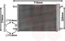 Kondensator, Klimaanlage für Klimaanlage VAN WEZEL 58005335