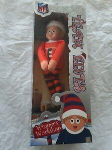 "New Cincinnati Bengals NFL TEAM Logo Elves Elf on shelf  Christmas giftdecor 9"""