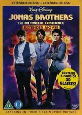 Jonas Brothers - The 3D Concert Experience (DVD, 2009, 2-Disc Set) New Sealed