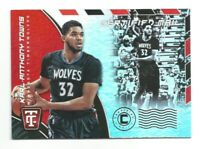 2017-18 Panini Totally Certified Karl-Anthony Towns Certified Mail TIMBERWOLVES