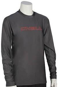O'Neill Kid's Basic Skins LS Surf Shirt - Graphite - New
