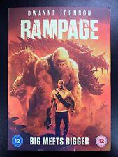 Rampage (Dwayne Johnson) - DVD -  UK Stock - Brand New & Sealed