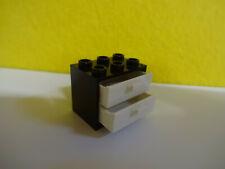 LEGO ® Chemin de fer 1x moteur train Plaque 6x16 Noir 3058 7735 723 3740 4536 r1303