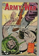 Our Army at War #27 Frogman c/s Hitler app Secret of Maginot Line Dc 1954 G/Vg