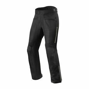 Rev'It Airwave 3 Mens Textile Motorcycle Pants Black Medium