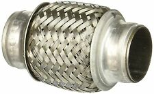 """1-1/2"""" 1.5 in ID x 4"""" Exhaust Pipe STAINLESS STEEL Flex Elbow Connector Coupler"""