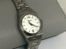 LADIES PRE-OWNED FOSSIL WATCH STAINLESS STEEL QUARTZ SERVICED WORKING 10 ATM