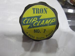 Bussmann No. 7 Tron Fuse Clip 225-400A 250/600V NEW!!! Free Shipping