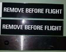 New listing Remove Before Flight decals sticker pilot jet fighter Boeing plane decal