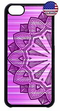 For Apple iPod 4 5 6 Hard Skin Back Cool New Design Mandala Case Cover