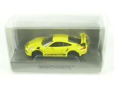 Porsche 911 GT3 RS (racing yellow with black side stripe) 2015