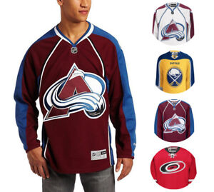 NHL Men's Center Ice Team Color Premier Hockey Jersey