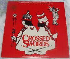 CROSSED SWORDS (Maurice Jarre) rare original stereo lp (1978)