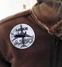 PATCH AIRBUS A350 Bomber Pilot Jacket sew-on or iron-on large size fabric A 350