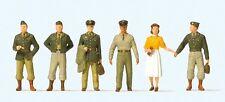 Preiser 10594 US Soldiers 1950's 00/H0 Model Railway Figures