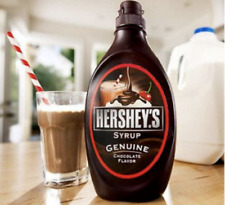 Hershey's Chocolate Flavour Syrup 🇺🇸 Large Bottle 1.36Kg Fat Free 😋