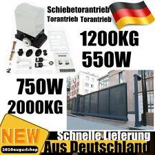 Schiebetorantrieb Toröffner Hoftorantrieb 1200/2000KG 550W/750W mit 2 Fernbedien